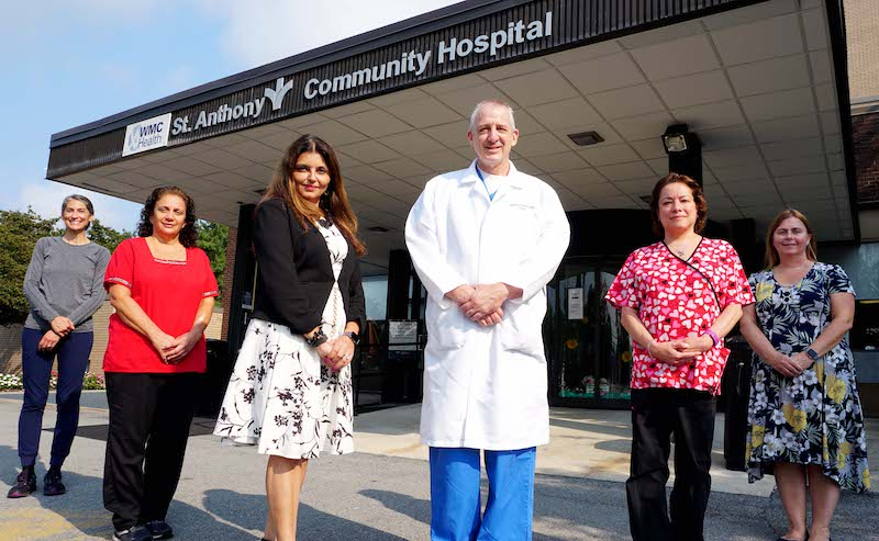 Diabetic Foot Care Team at St. Anthony's Community Hospital